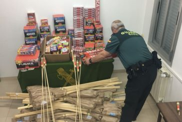 La Guardia Civil inspeccionará en Navidades los lugares de venta y el uso de artículos pirotécnicos