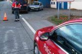 Dos conductoras, heridas en Murchante al chocar sus turismos