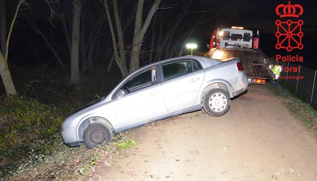 Un joven herido grave en un accidente en Sartaguda