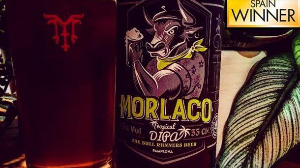 Una cerveza navarra, reconocida en un concurso en Londres
