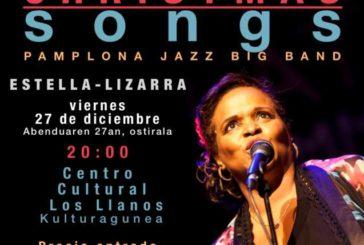 AGENDA: 27 y 28 diciembre, en Estella y Cizur, jazz con Deborah Carter