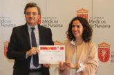 Maite Ruiz Goikoetxea ganadora de la Beca Senior 2019 del Colegio de Médicos de Navarra