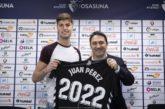 """Juan Pérez (Osasuna): """"Debutar en Primera es un sueño hecho realidad"""""""