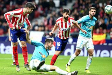 2-0: Un buen Osasuna cae en el Wanda ante un Atlético que recuperó el gol