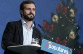 Casado reivindica a la nación española ante la deriva anticonstitucional de Sánchez