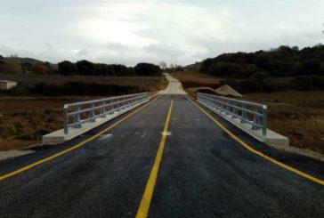 El nuevo puente de Sansoáin se abre al tráfico de forma provisional