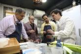 Dos chefs y un importador indios visitan Navarra