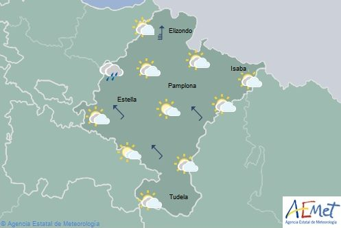 El tiempo hoy miércoles en Navarra