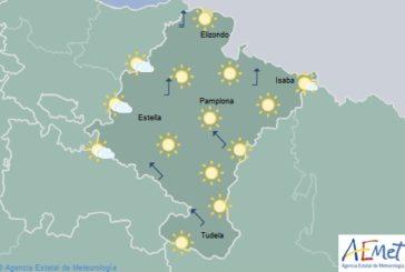 El tiempo hoy jueves en Navarra