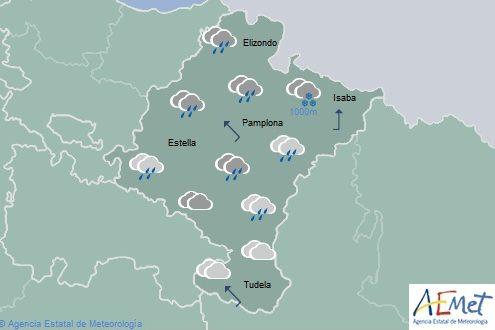 El tiempo para hoy viernes en Navarra