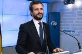 Casado anuncia una querella contra Torra por usurpación de funciones y exige a Sánchez que le obligue a cumplir la ley
