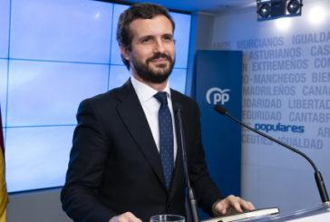 Casado acusa al Gobierno de devastar la economía española y reclama medidas
