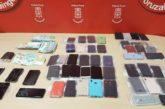 Cuatro detenidos por robar 53 móviles en San Sebastián