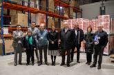 Chivite visita el Banco de Alimentos de Navarra