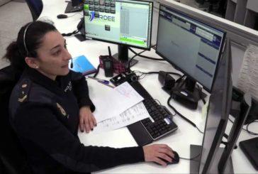 El 091 de la Policía Nacional atendió más de 1.000.000 de llamadas en la capital el pasado año