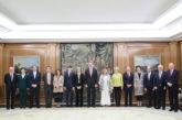 S.M. el Rey recibe a la Fundación Gregorio Ordóñez en el 25 aniversario del asesinato a manos de ETA