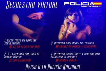 La Policía Nacional evita que una mujer abone el «rescate» de su hija supuestamente secuestrada