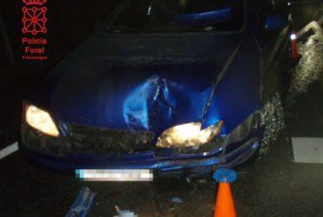 La Policía Foral atiende este fin de semana 19 accidentes viales y 13 ayudas  en ruta