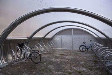Los primeros aparcamientos públicos vigilados y cubiertos para bicicletas en Pamplona