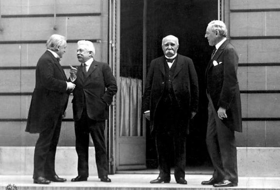 Comienza la Conferencia de Paz de París