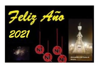 Hoy es fiesta: El equipo de Navarra Información desea FELIZ AÑO 2021