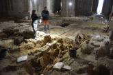 Se descubren restos funerarios y la cimentación de tres Iglesias en el Monasterio de Irache