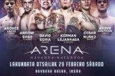 AGENDA: 29 de febrero, en Navarra Arena, IRUÑA PRO BOXING & KICKBOXING SHOW