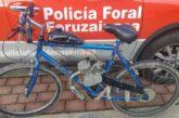 Imputado en Noain por circular con una 'bici-moto'