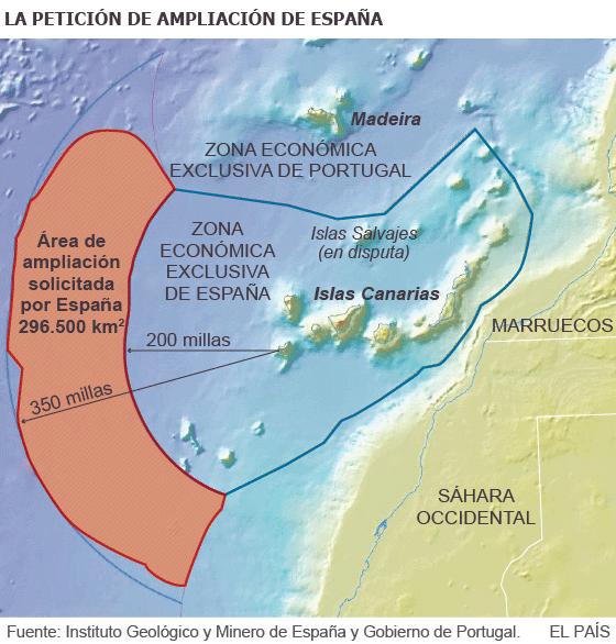 Marruecos amplía sus fronteras marítimas hasta Canarias sin consulta previa