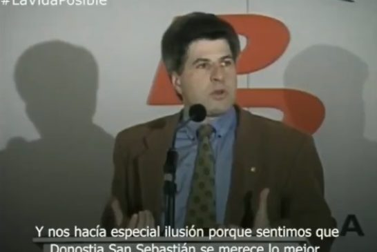 25 años del asesinato de Gregorio Ordóñez a manos de ETA