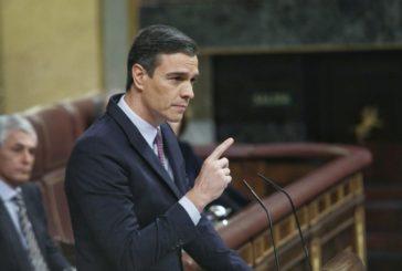 Sánchez en su investidura acusa a Casado de tratar de sabotear el Gobierno