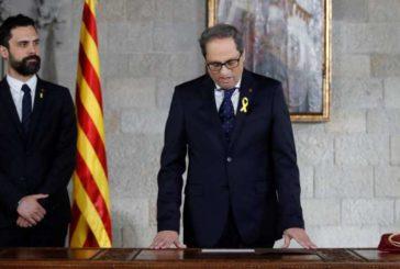 Los letrados del Parlamento de Cataluña avalan la desobediencia de Torra