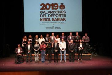 12 deportistas con Manuel Quijera y Amaia Osaba reconocidos como más destacados de 2019