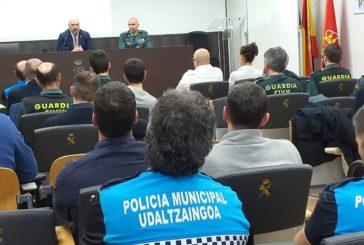 Jornada de formación de la Guardia Civil de Navarra a policías locales