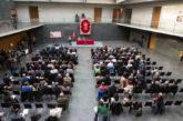 Acto de apertura de las Jornadas sobre Despoblación en el Parlamento de Navarra