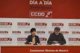 CCOO alerta de que el 39% de los contratos que se firman en Navarra son para 7 días o menos