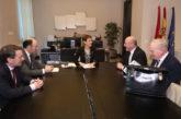 Chivite confía en que las nuevas rutas ofertadas por Air Nostrum refuercen al aeropuerto de Pamplona