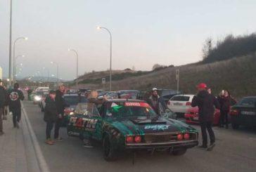Más de 30 vehículos DRIFT PRO se concentran en el exterior de Navarra Arena antes de Volrace ICE