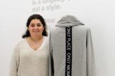 La alumna de Creanavarra Blanca Guinea diseña una sudadera para la marca sostenible Vivalma