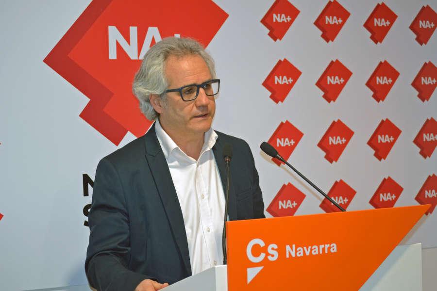 """Pérez-Nievas (Cs): """"Exigimos a PSN en Pamplona que rectifique la campaña de acoso contra el concejal Sesma"""""""