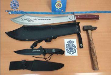 Policía Nacional incauta varias armas prohibidas en Dancharinea (Navarra)