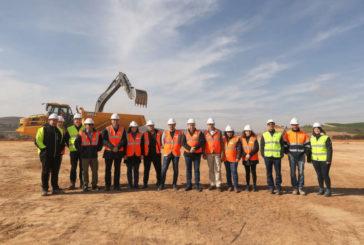 El nuevo polígono de Lodosa nace como referente de reactivación del eje del Ebro