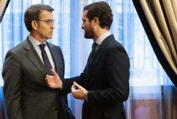 """Casado acusa a Sánchez de """"blanquear"""" la """"hoja de ruptura"""" de los independentistas con la mesa de autodeterminación"""