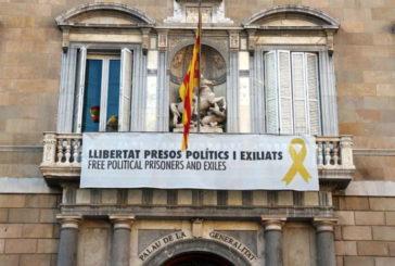 El TSJC abre otra investigación a Torra por no retirar una pancarta a favor de los presos