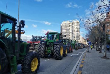 Agricultores y ganaderos de Navarra reivindican