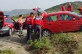 Se da a la fuga y es detenido tras salirse de la vía en Tajonar, Pamplona