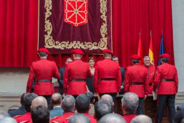 94 distinciones a agentes y entidades colaboradoras en el Día de la Policía Foral de Navarra