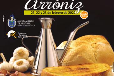 AGENDA: 21, 22 y 23 de febrero, en Arróniz (Navarra), celebración XVII Día de la Tostada