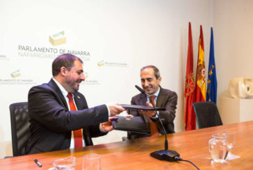 El Parlamento renueva su Convenio de Colaboración con la Universidad de Navarra para el año 2020