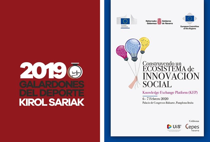 AGENDA: 6 de febrero, en Baluarte, Ecosistema de innovación social y gala del deporte